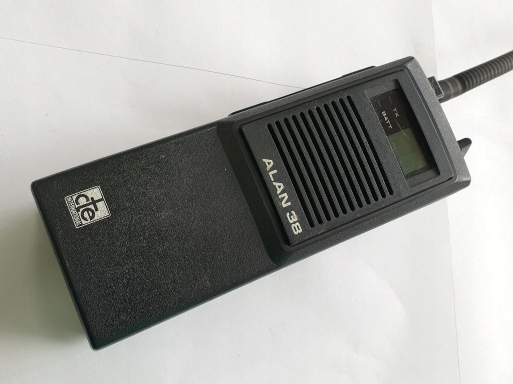 CB RADIO ALAN 38 RĘCZNE KRÓTKOFALÓWKA GWR