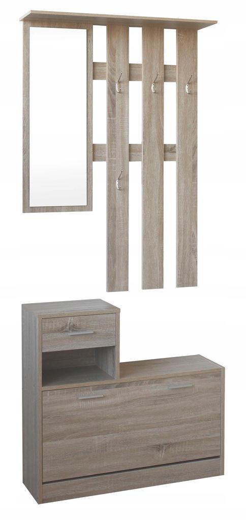 Garderoba Szafka do przedpokoju z lustrem