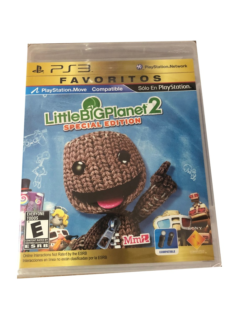 Little Big Planet 2 Special Edition Lbp Ps3 Nowa 9618197939 Oficjalne Archiwum Allegro