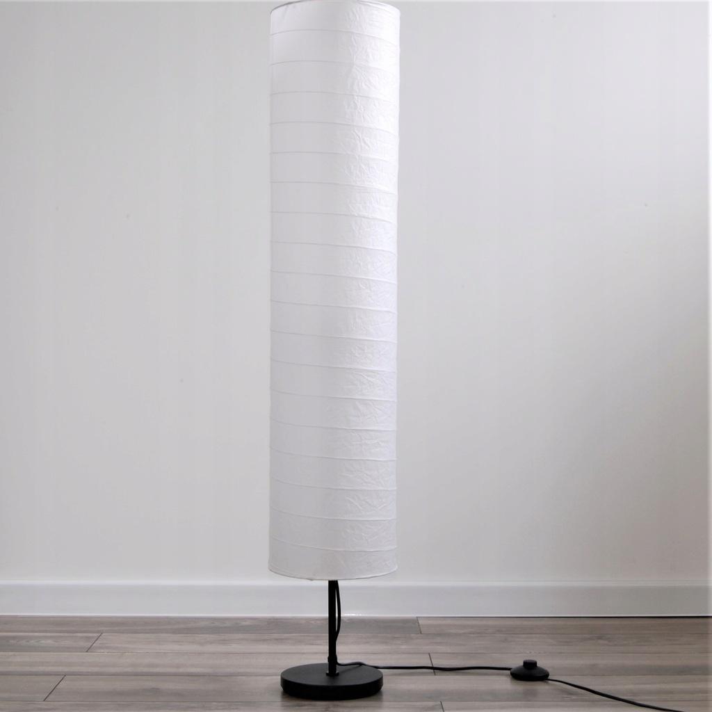 LAMPA PODŁOGOWA STOJĄCA NOCNA LAMPKA PAPIER IKEA