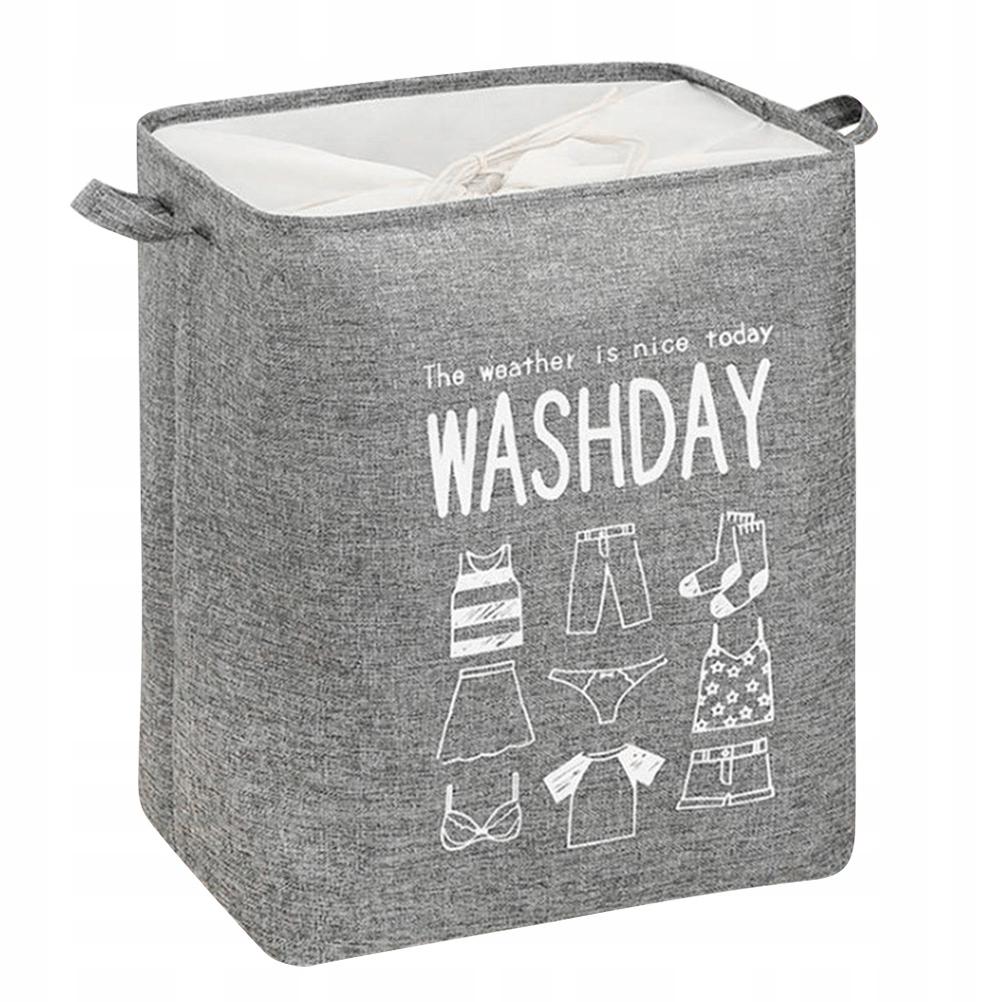 1szt Składana torba na pranie Pojemnik na brudne u