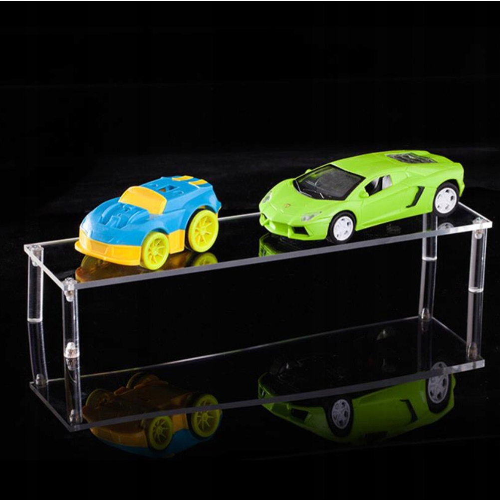 Detachable Transparent Ladder Display Rack Figurin