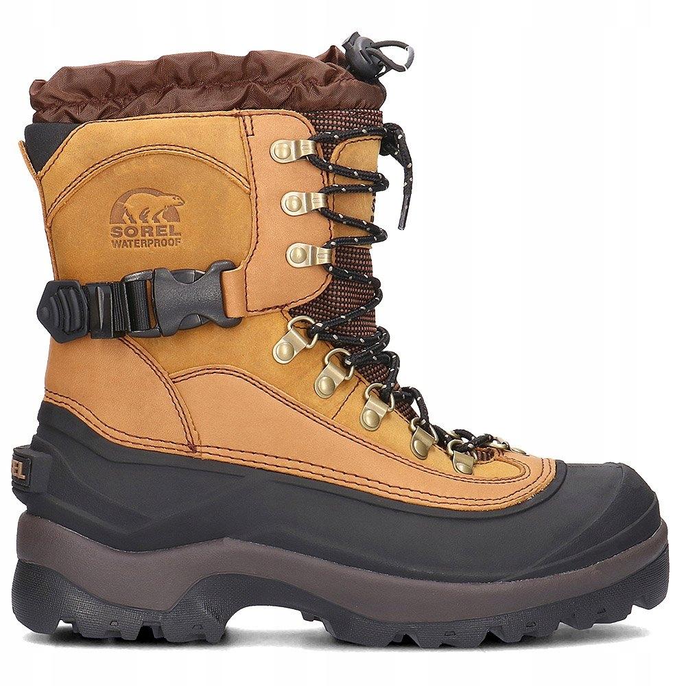 buty męskie wysokie sznurowane hiker sorel