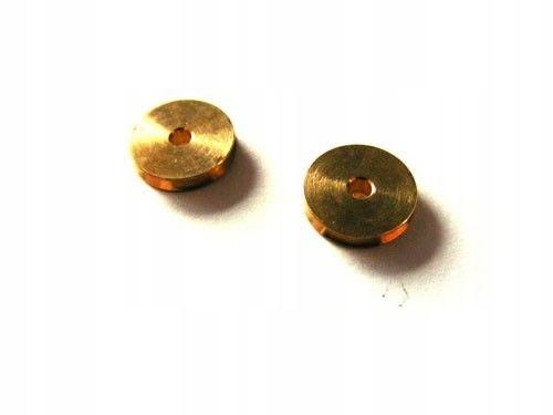 Kółko obrotowe do linek 3 mm, otwór 1 mm - 2szt