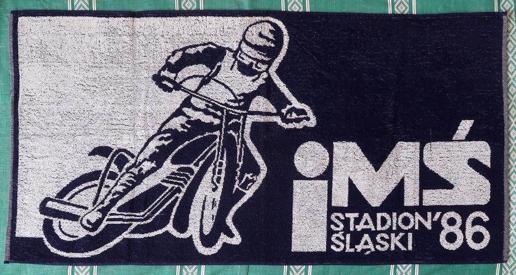 DUŻY RĘCZNIK - IMŚ STADION ŚLĄSKI 1986 – CHORZÓW