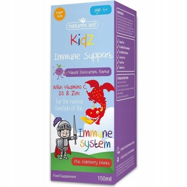 Natures suplement diety Aid Kidz Immune Support 15