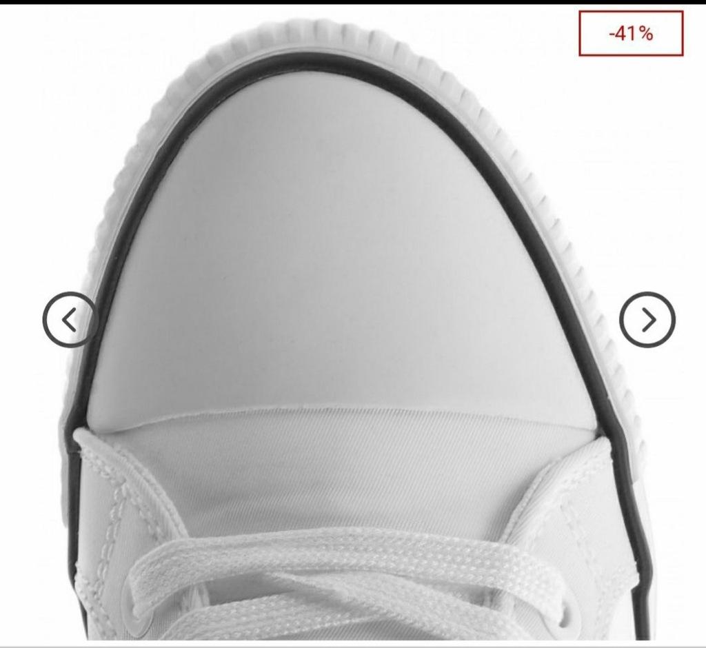 Sneakersy na koturnie Calvin Klein Rory 38 8279974677