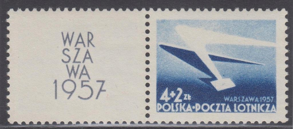 1957r. Fi. 859** z przywieszką Warszawa 1957