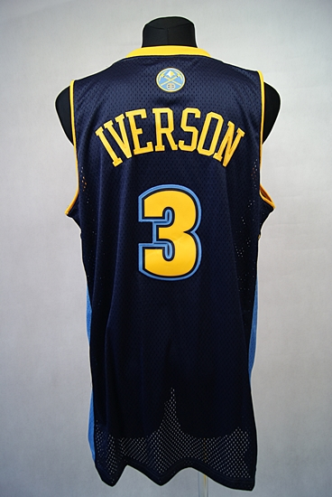 ADIDAS DENVER NUGGETS IVERSON #3 NBA KOSZULKA L+2