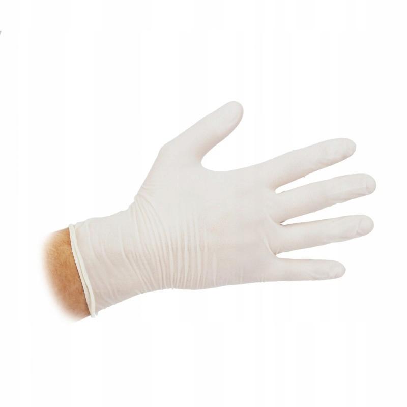 Rękawiczki Winylowe Pudrowane Vinylex roz.S 100szt