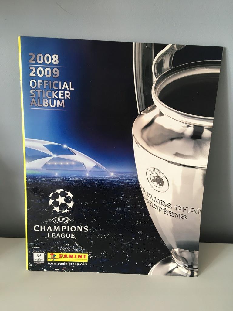 Album Champions League 2008 2009 Panini