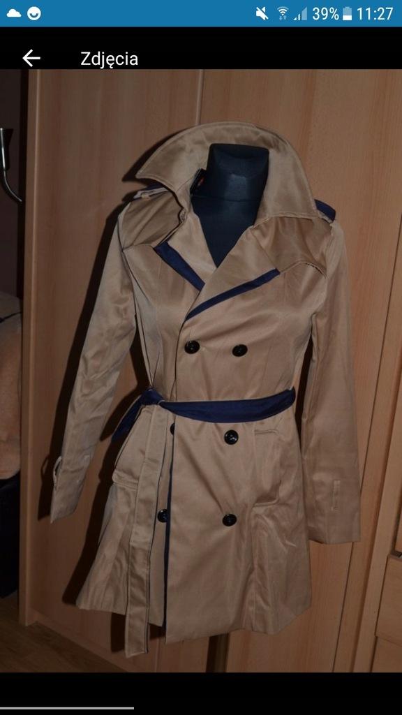 płaszcz Mango nowy 40 L śliczny