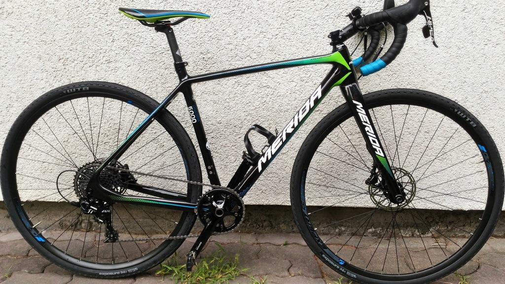 Merida cyclo cross 5000 rama s hydraulik JAK NOWA
