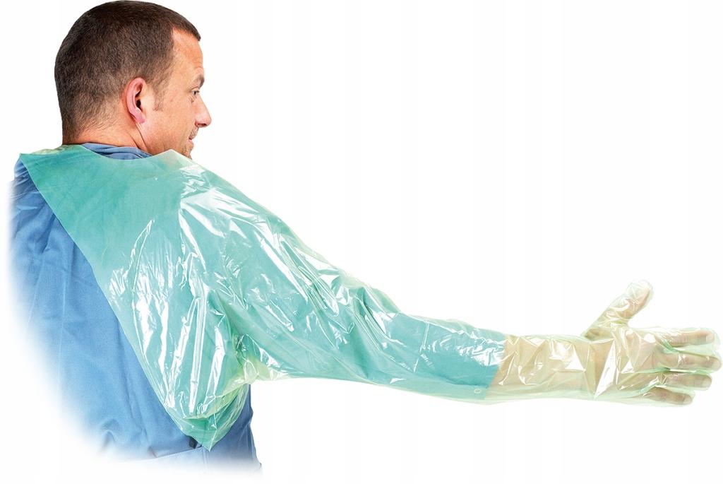 Rękawice rektalne inseminacyjne 50 szt. 95 cm