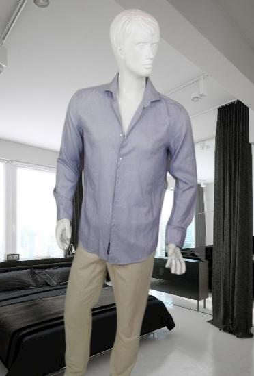 Hugo Boss niebieska koszula