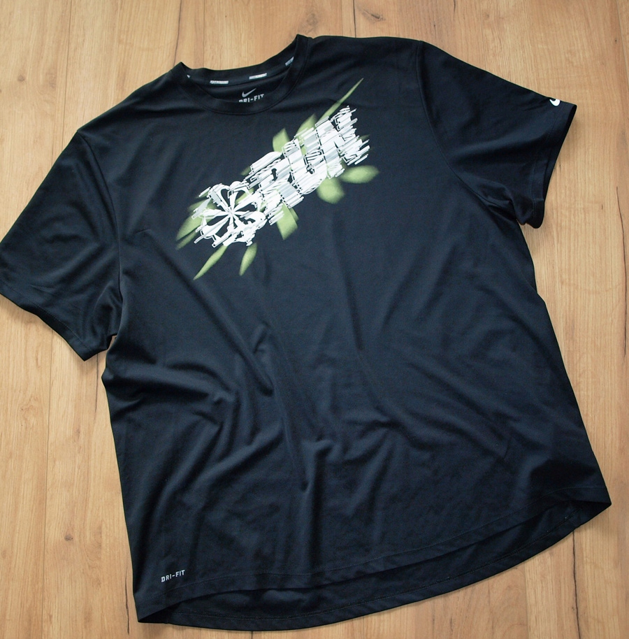 NIKE RUNNING extra koszulka aplikacja XL