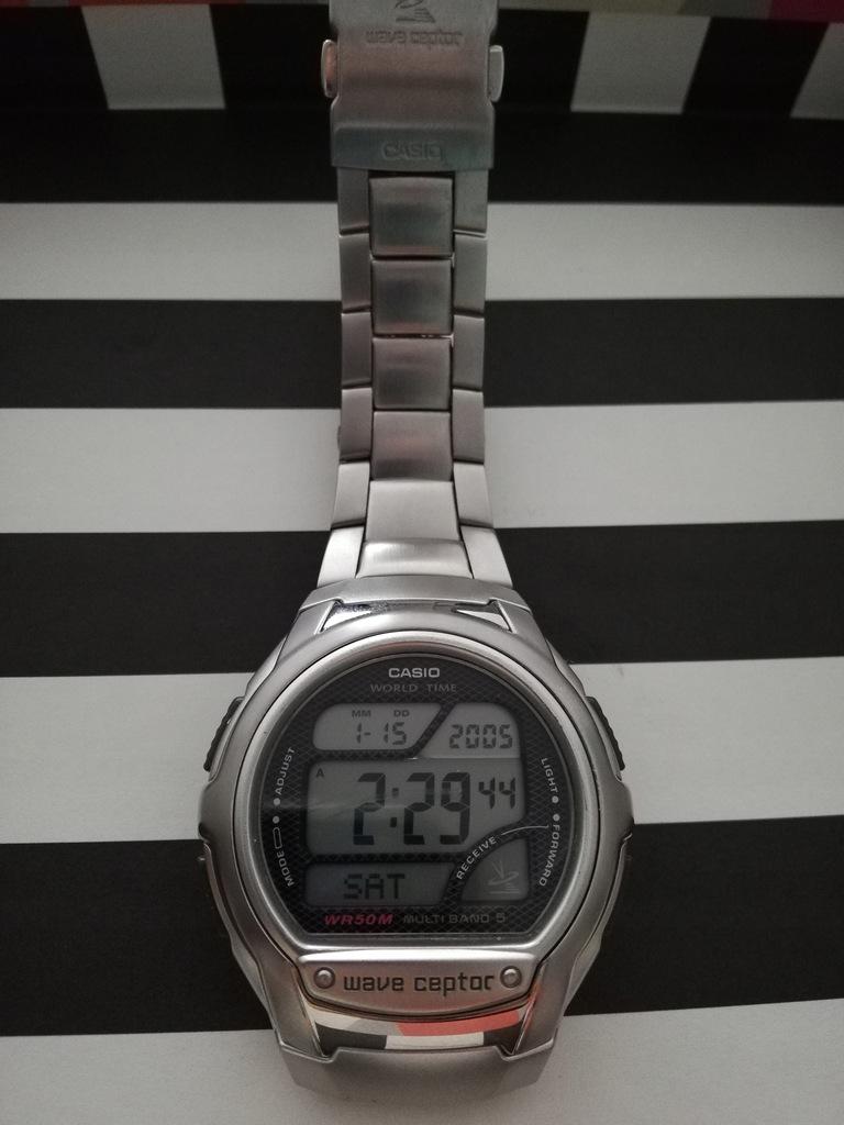 Zegarek CASIO Wave Ceptor WV 58U