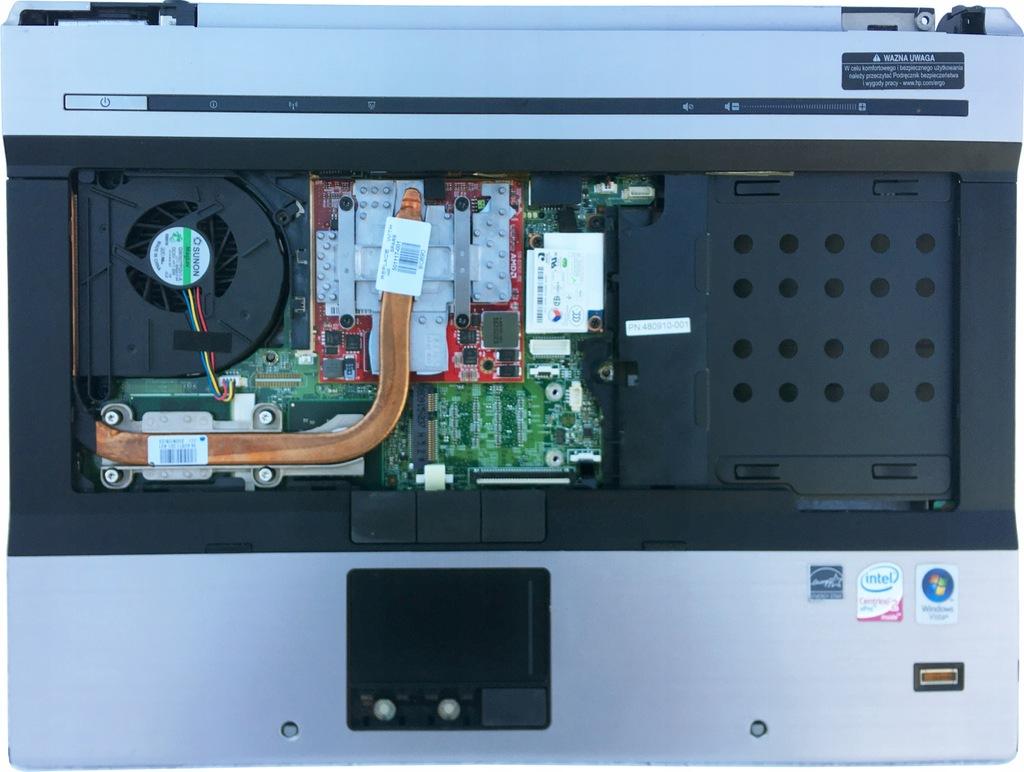 Oryginalna płyta główna HP 8530P + C2D P8400