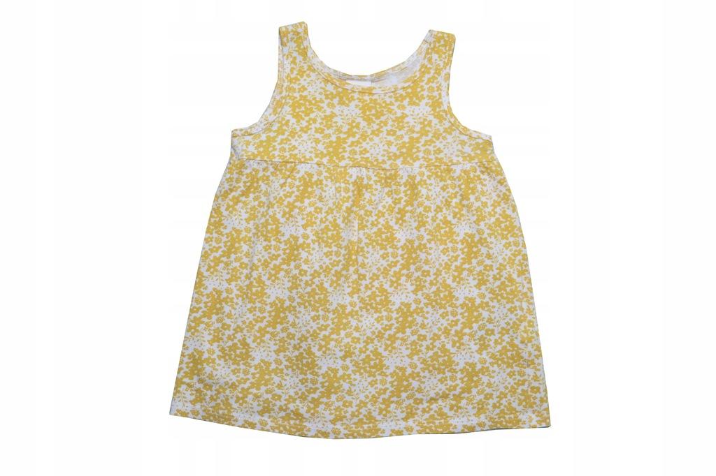 T314. H&M sukienka r. 68, 4-6 m-cy
