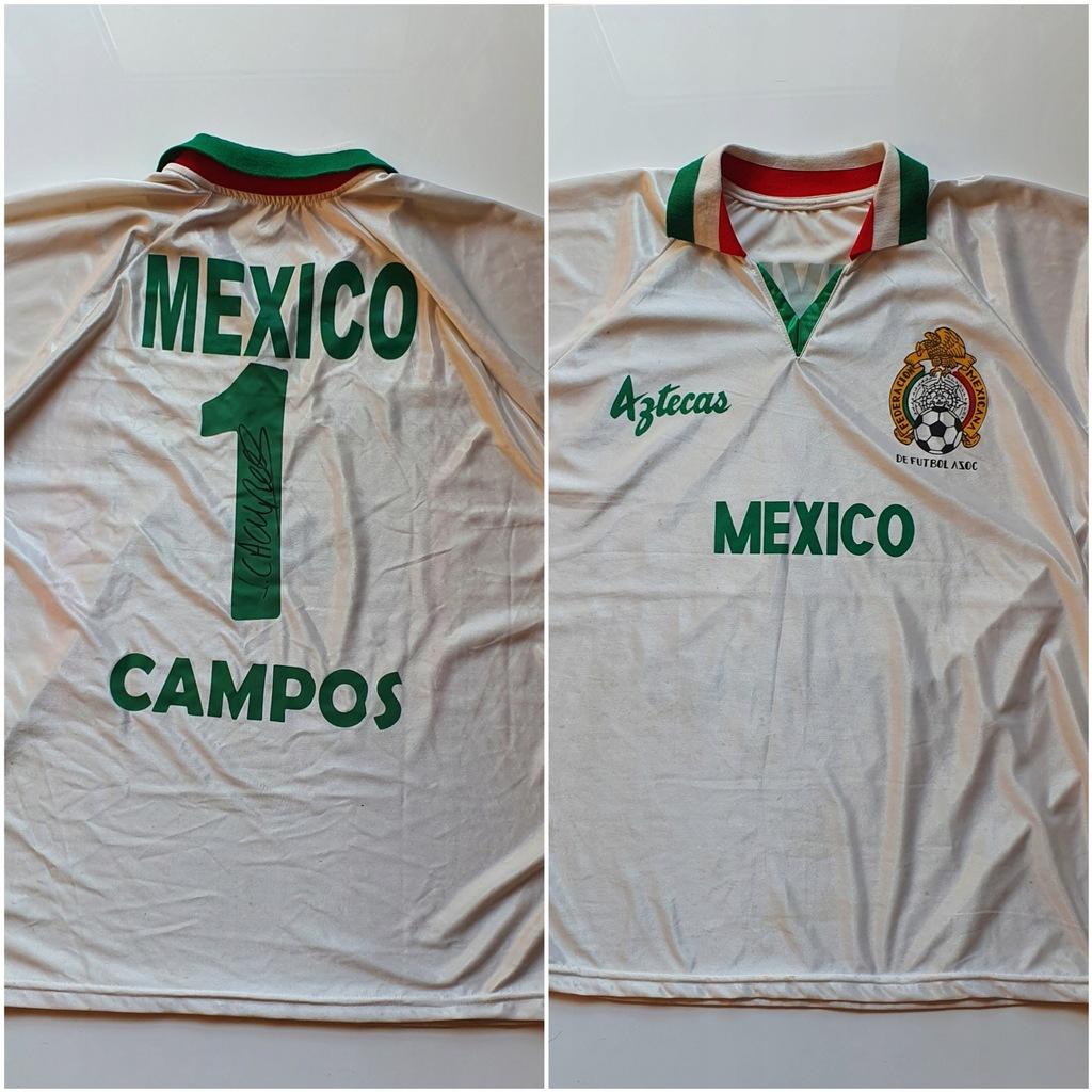 Campos, Meksyk - koszulka z autografem (zag)