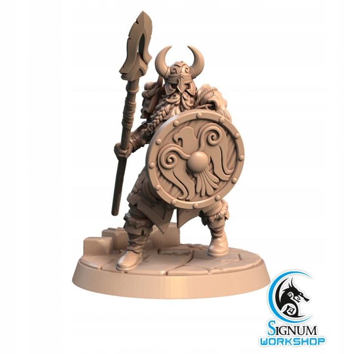 Figurka SW wiking wojownik włócznia RPG