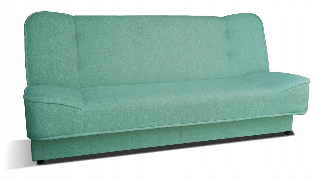 Kanapa WERA rozkładana wersalka miętowa sofa RIBES