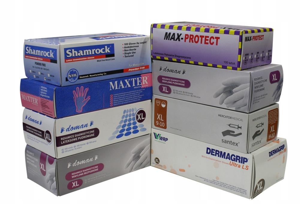 Rękawiczki XL Do Sprzątania Po Terminie