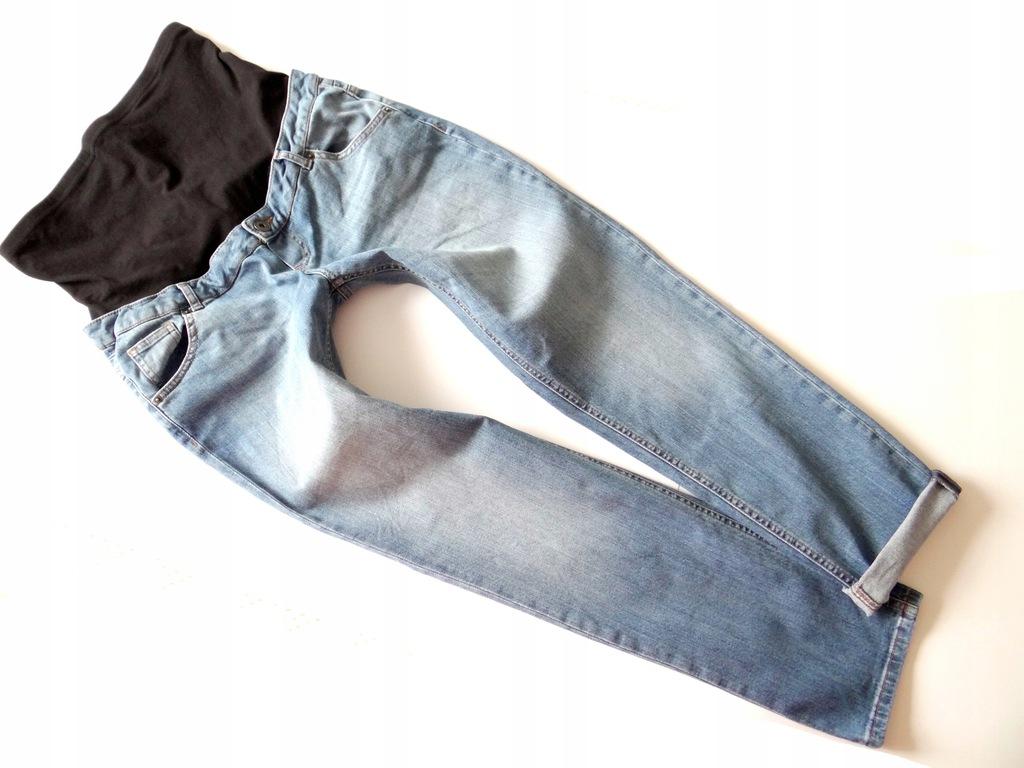 Świetne spodnie ciążowe*UK 14 EUR 42