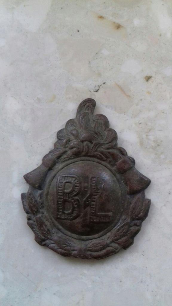 Odznaka z naramiennika . Okręg białostocki