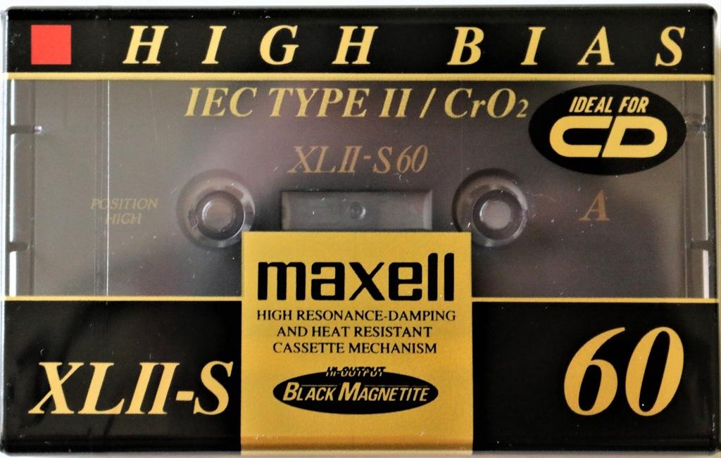 Kaseta MAXELL XLII-S 60 Rok 1994