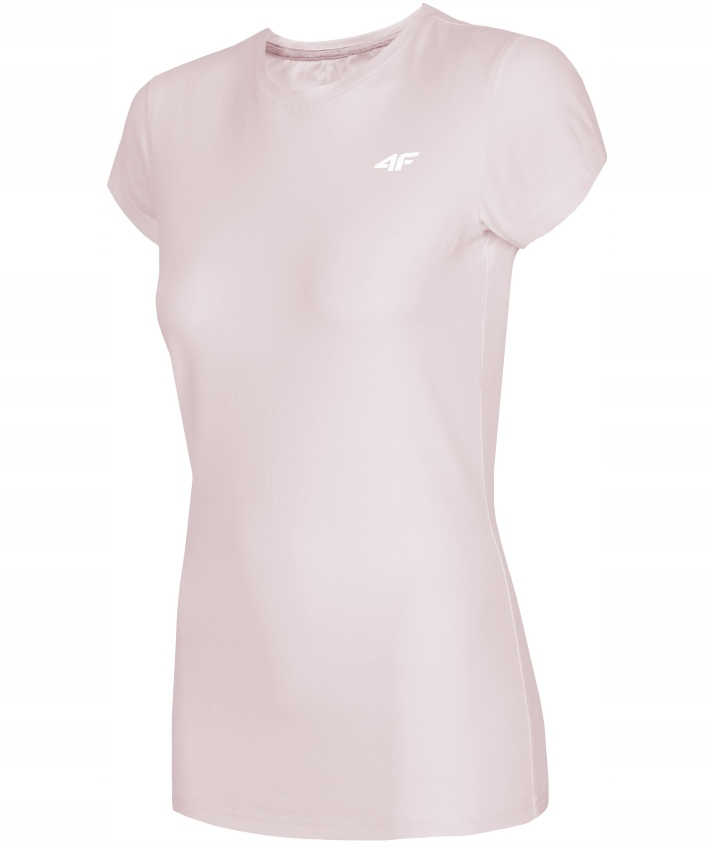 Koszulka 4F damska sportowa T-shirt pudrowy róż M