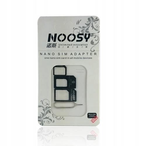 Adapter sim 3w1 + kluczyk Nossy
