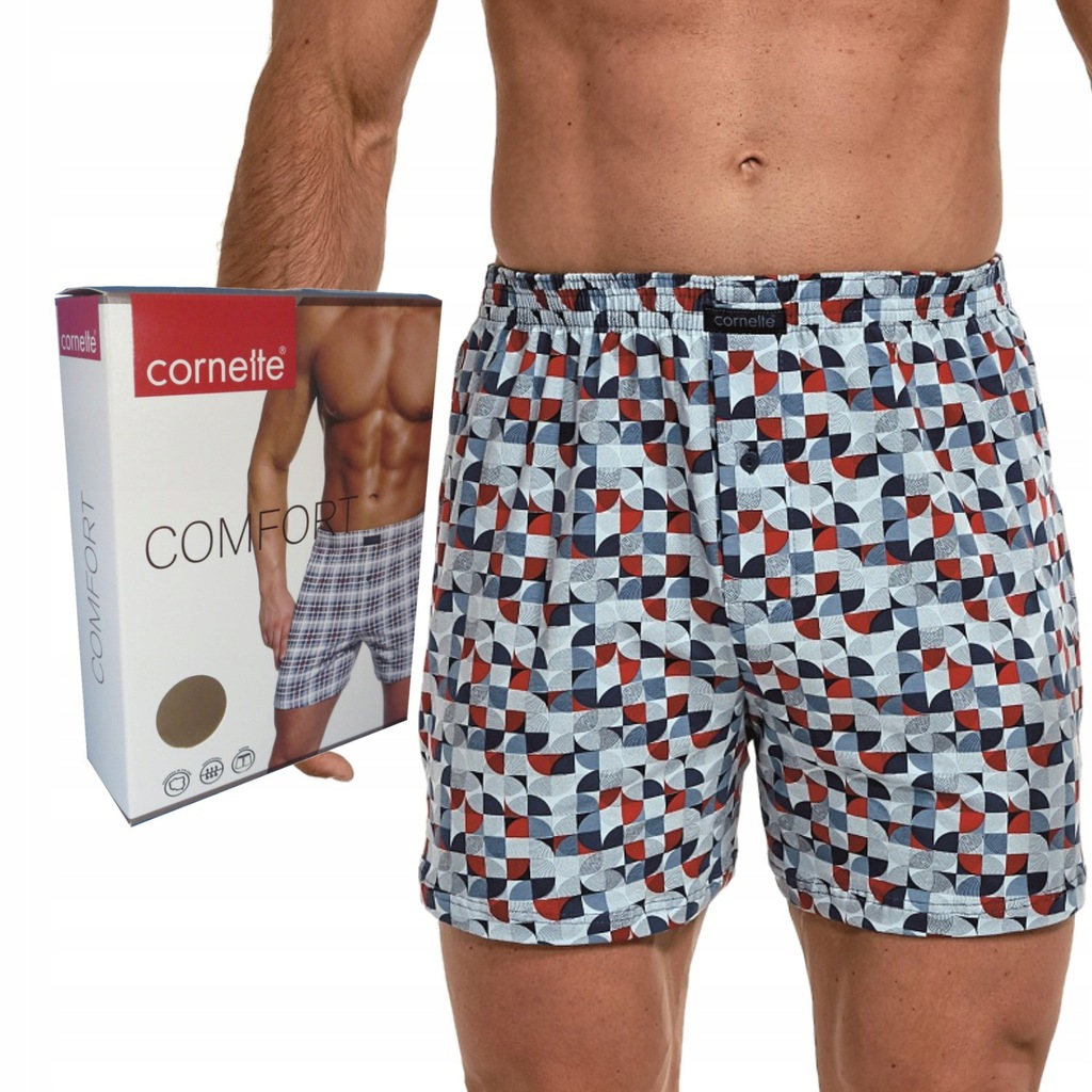 CORNETTE bokserki COMFORT box luźne 002/174 L