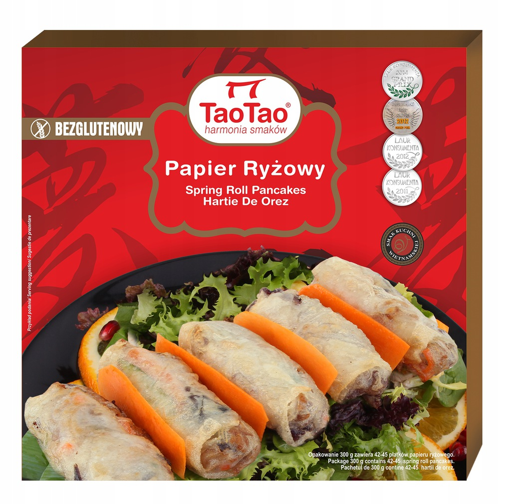 Papier ryżowy TaoTao 300 g do sajgonek duży