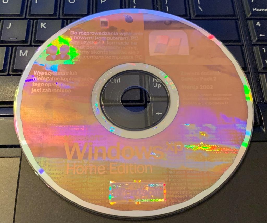 Microsoft Windows XP Home Edition SP2