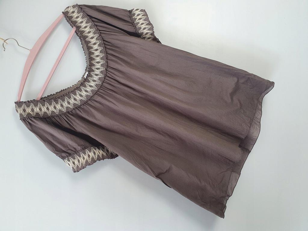 SIGNAL brązowa bluzka 100% bawełna 50/52