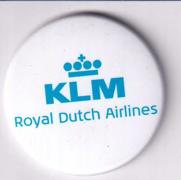 MAGNES NA LODÓWKĘ MAGNETKA LINIE LOTNICZE KLM 2667