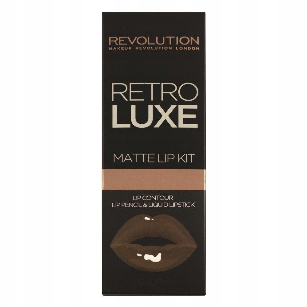 Makeup Revolution Retro Luxe Matte Lip Kits Zestaw