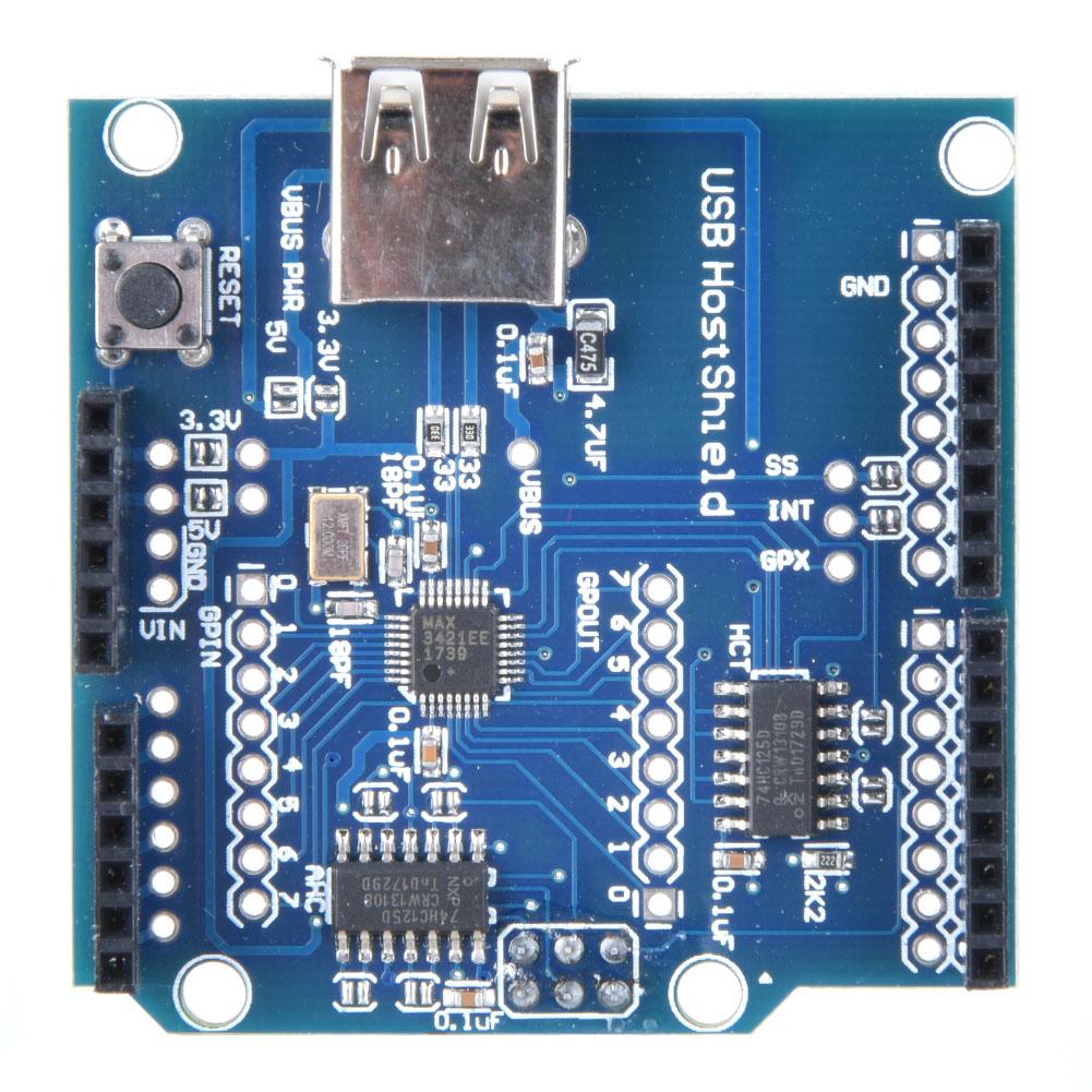 Shield HOST Moduł uno do mega etc USB ARDUINO