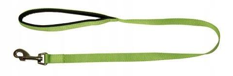 KERBL Smycz Miami, 200 cm x 25 mm, zielona