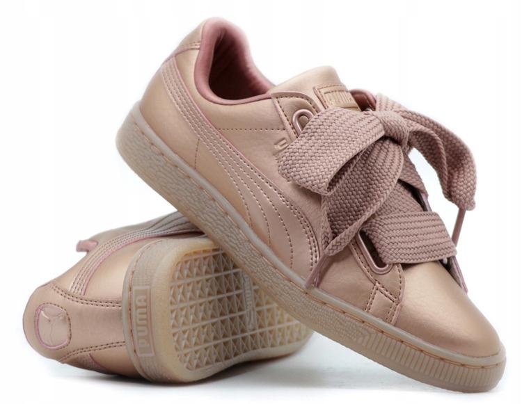 Buty Puma Basket Heart Copper damskie sportowe 365463 01