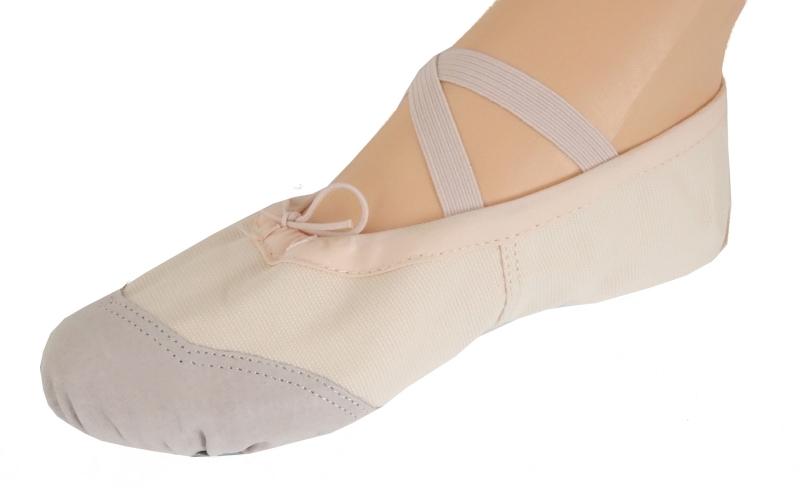 Baletki mat-skórzane Free Dance roz. 34,5 - różowe