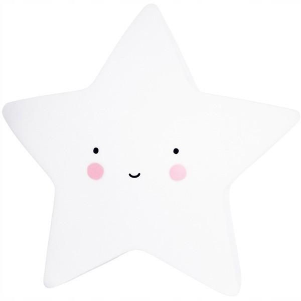 Lampka nocna gwiazda duża biała CUTE