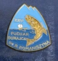 Odznaka wędkarska PZW 26 Puch Dunajca Romaniszyna