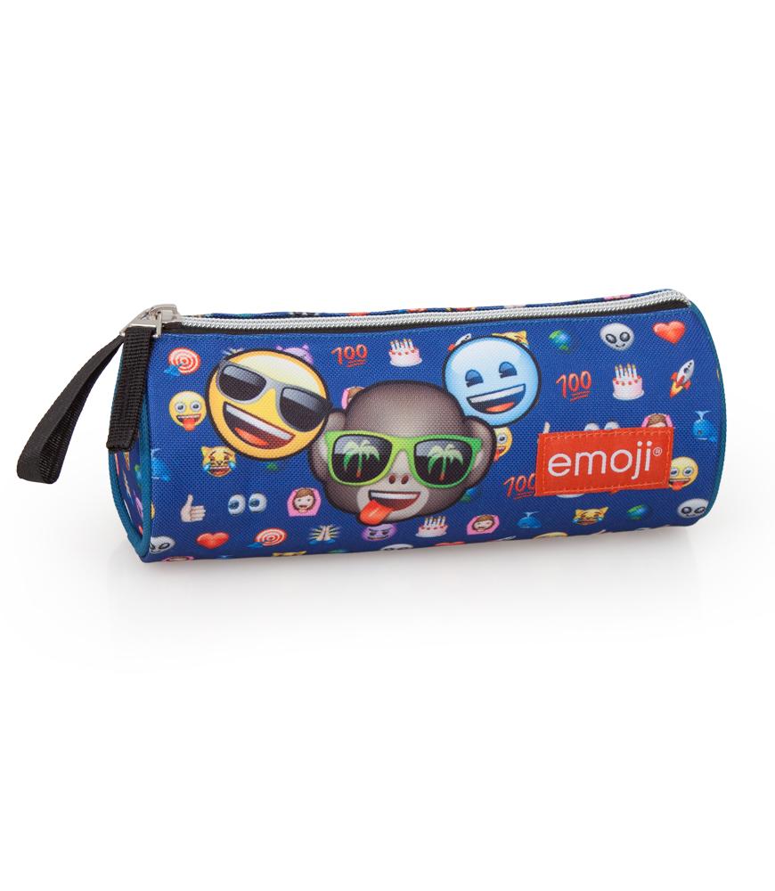 Piórnik młodzieżowy tuba Emoji / Emotikony