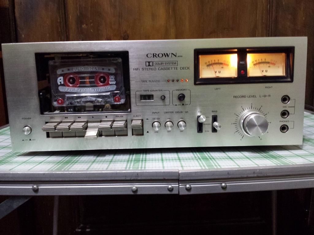 MAGNETOFON DECK CROWN JAPAN CDT 2200 1977 R