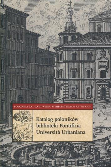 Katalog poloników biblioteki Pontificia Urbaniana