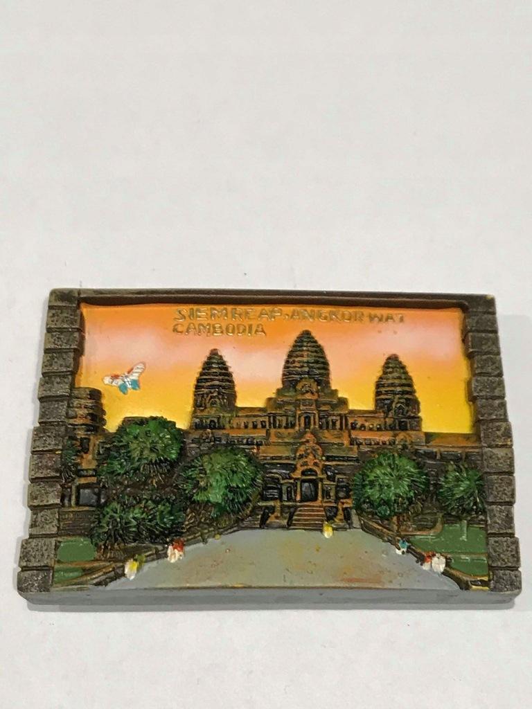 Magnes lodówkę magnez Kambodża Cambodia ceramika
