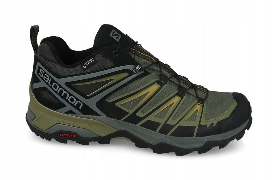 Buty Salomon X Ultra 3 GTX Czarny Ciemno szary Sprzedaż