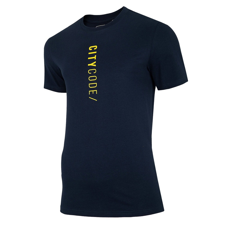 T-Shirt 4F H4L20-TSM016 31S granatowy XXL!
